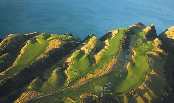 North Island, New Zealand, New Zealand, Cape Kidnappers Golf Club