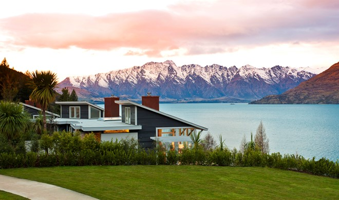 South Island, New Zealand, New Zealand, Matakauri Lodge
