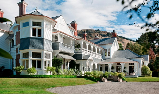 South Island, New Zealand, New Zealand, Otahuna Lodge