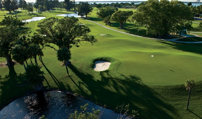 Florida, USA, Normandy Shores Golf Club