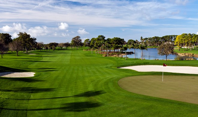 Florida, USA, PGA National Golf Courses