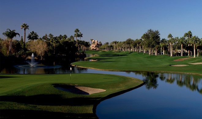 Arizona, USA, The Phoenician Golf Course