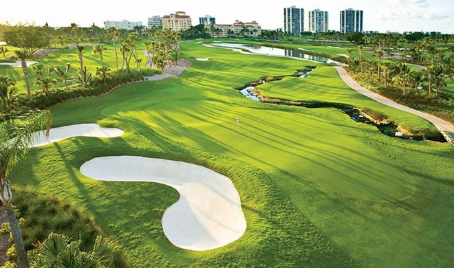 Florida, USA, Turnberry Isle Golf Courses
