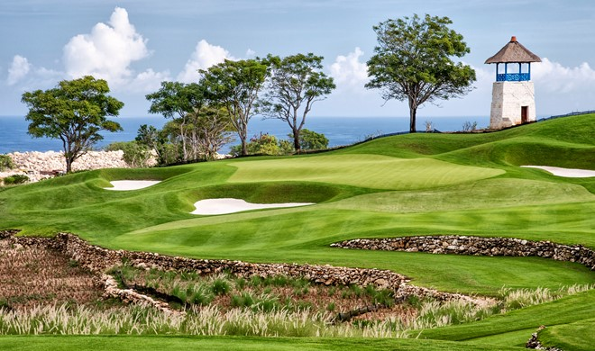 Bali, Indonesien, Bukit Pandawa Golf & Country Club