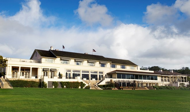 Californien, USA, The Lodge at Pebble Beach