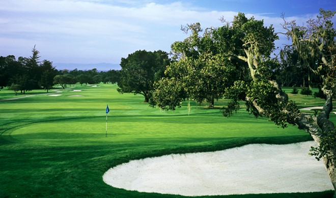 Californien, USA, Del Monte Golf Course