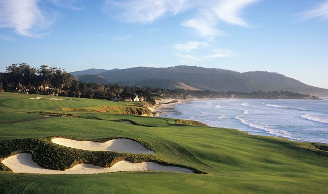 Californien, USA, Pebble Beach Golf Links™