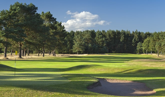 Fife, Skotland, Ladybank Golf Club