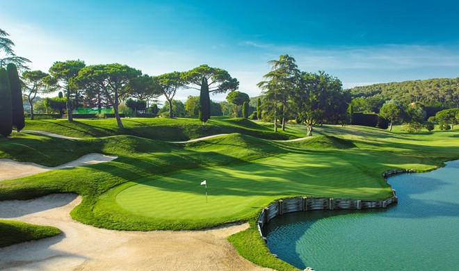 Costa Brava, Spanien, Club de Golf Vallromanes