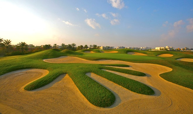 Dubai, Forenede Arabiske Emirater, The Montgomerie Golf Course