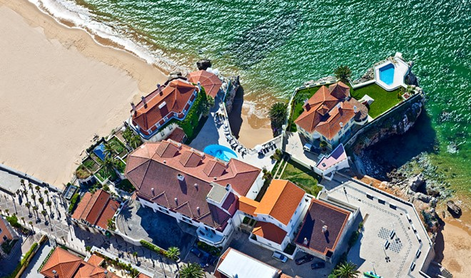 Cascais-Estoril (Lissabon), Portugal, The Albatroz Seafront Hotel