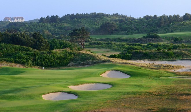 Opalkysten, Frankrig, Le Touquet Golf Resort