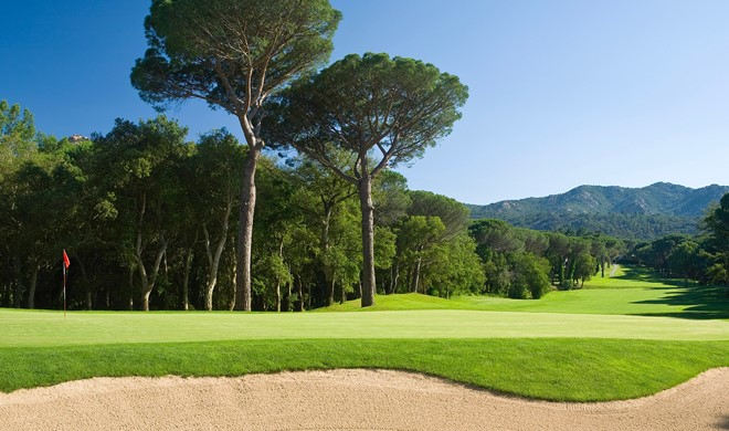 Costa Brava, Spanien, Club de Golf Costa Brava