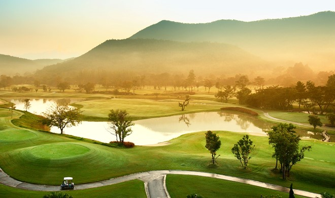Chiang Mai, Thailand, Alpine Golf Resort