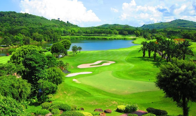 Phuket, Thailand, Blue Canyon Country Club