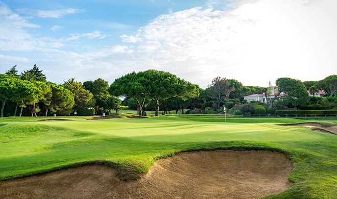 Cascais-Estoril (Lissabon), Portugal, The Quinta da Marinha Golf Course