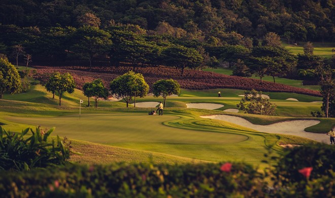 Hua Hin, Thailand, Black Mountain Golf Club