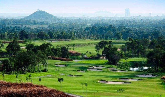 Pattaya, Thailand, Siam Country Club