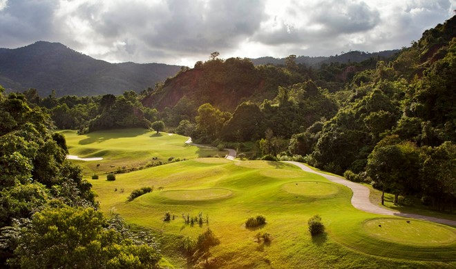 Phuket, Thailand, Red Mountain Golf Course