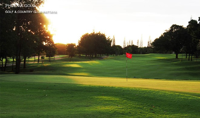 Pattaya, Thailand, Phoenix Gold Golf & Country Club