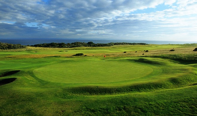Edinburgh & East Lothian, Skotland, Gullane Golf Club