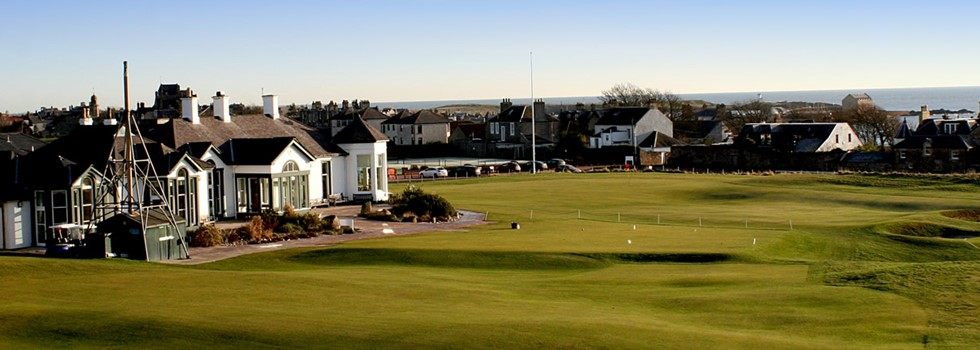 Fife, Skotland, Golf House Club Elie