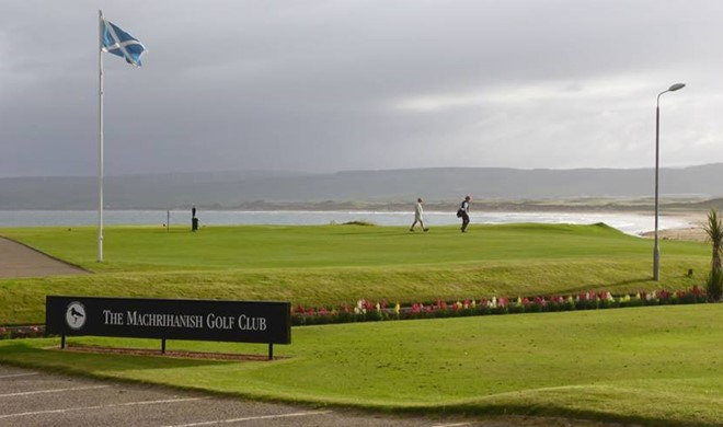 Argyll, Skotland, The Machrihanish Golf Club