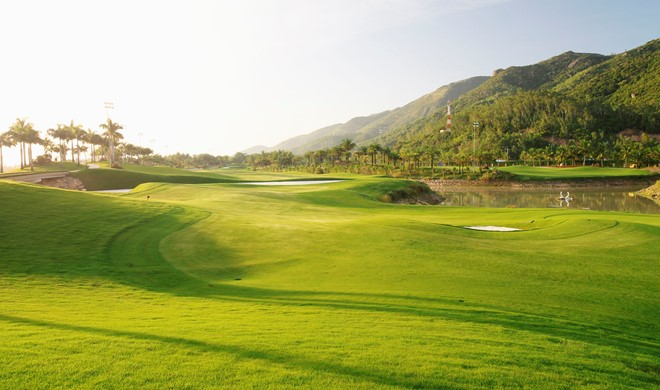 Det sydlige Vietnam, Vietnam, Diamond Bay Golf Course