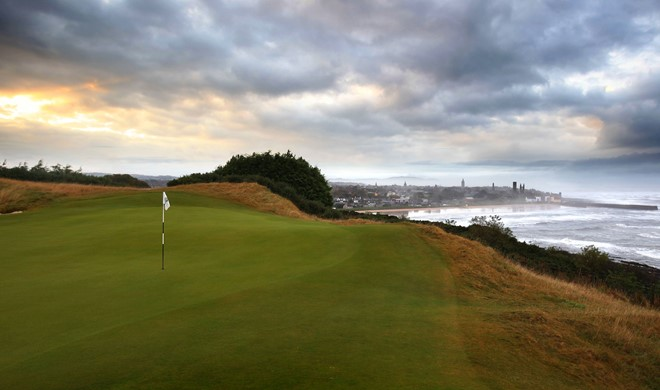 Fife, Skotland, The Castle Course, St Andrews Links