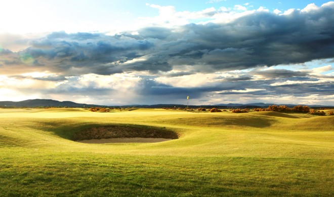 Fife, Skotland, Strathtyrum Course St Andrews Links