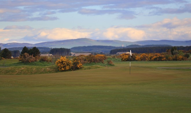 Fife, Skotland, Balgove Course, St Andrews Links
