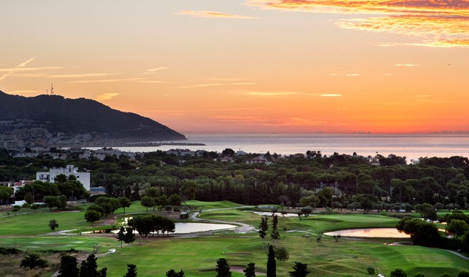 Costa Brava, Spanien, Club de Golf Terramar