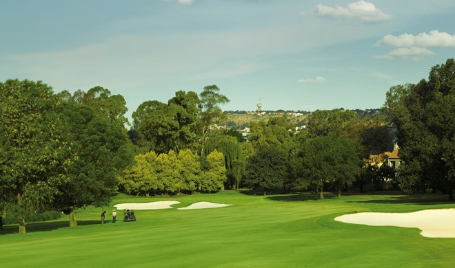 Johannesburg området, Sydafrika, Glendower Golf Club