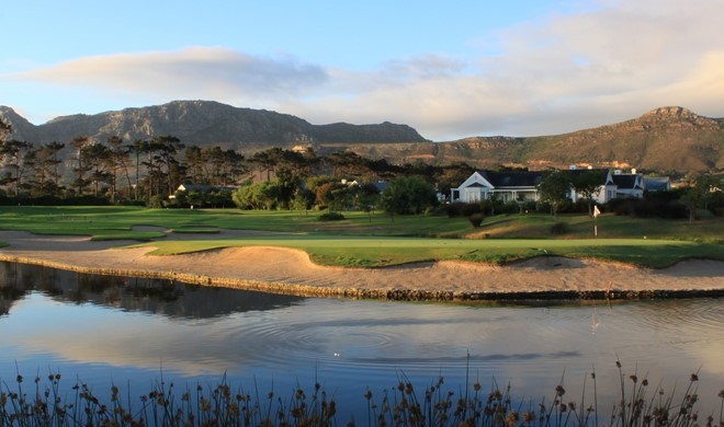 Cape Town området, Sydafrika, Steenberg Golf Course