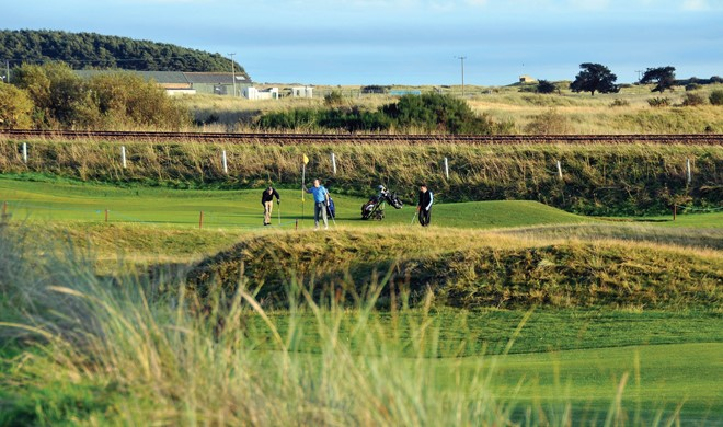 Nordøstlige Skotland, Skotland, Monifieth Golf Links