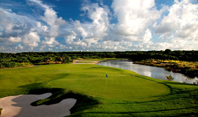 Punta Cana, Den Dominikanske Republik, Hard Rock Golf Club (Cana Bay Palace)