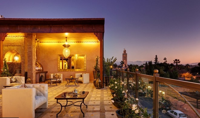 Marrakech, Marokko, Riad Wow