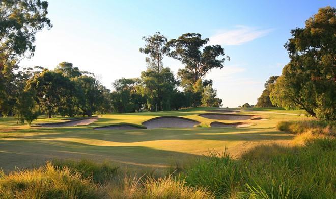 Victoria, Australien, Huntingdale Golf Club