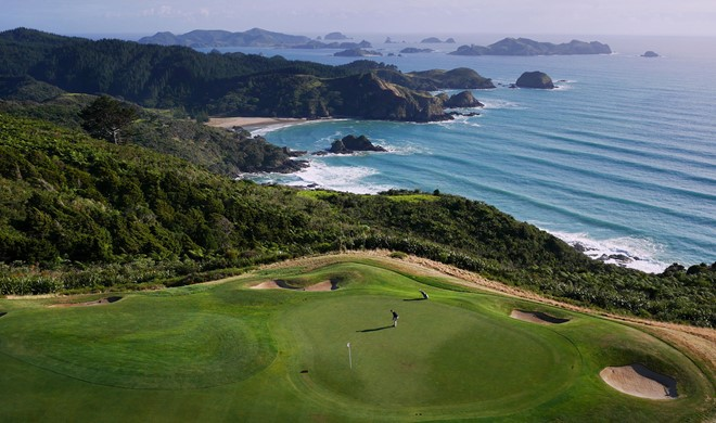 North Island, New Zealand, New Zealand, Kauri Cliffs Golf Course
