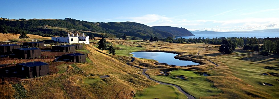 North Island, New Zealand, New Zealand, The Lodge at Kinloch Club