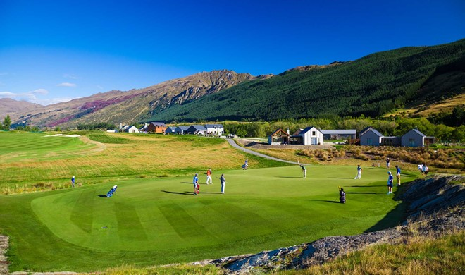 South Island, New Zealand, New Zealand, Millbrook Resort Golf Course