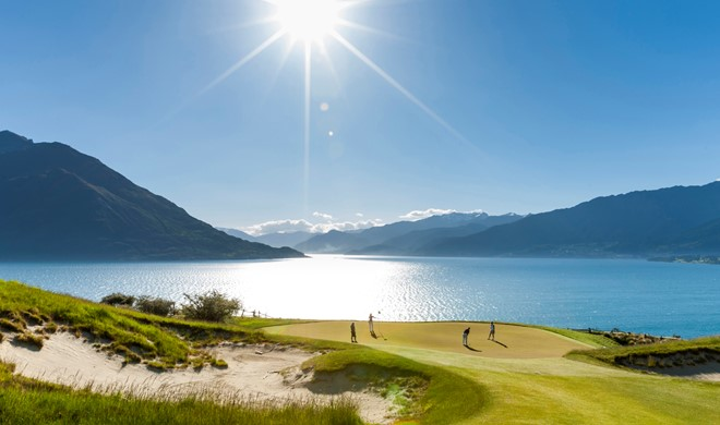 South Island, New Zealand, New Zealand, Queenstown Golf Club