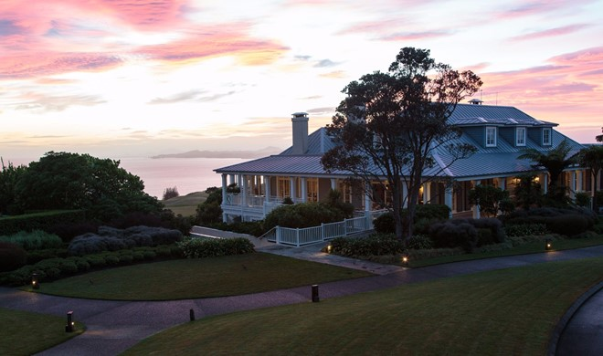 North Island, New Zealand, New Zealand, The Lodge at Kauri Cliffs